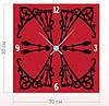 """Настенные часы """"Узор"""" (30x30 см) [Акрил, Открытые]"""