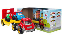 Автовоз игрушка из Стройплощадкой ТехноК 3930 (4)