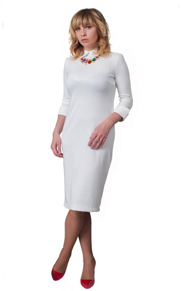 Платье Luxury 0226_1 Молочное
