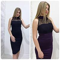 Женское платье корсетное