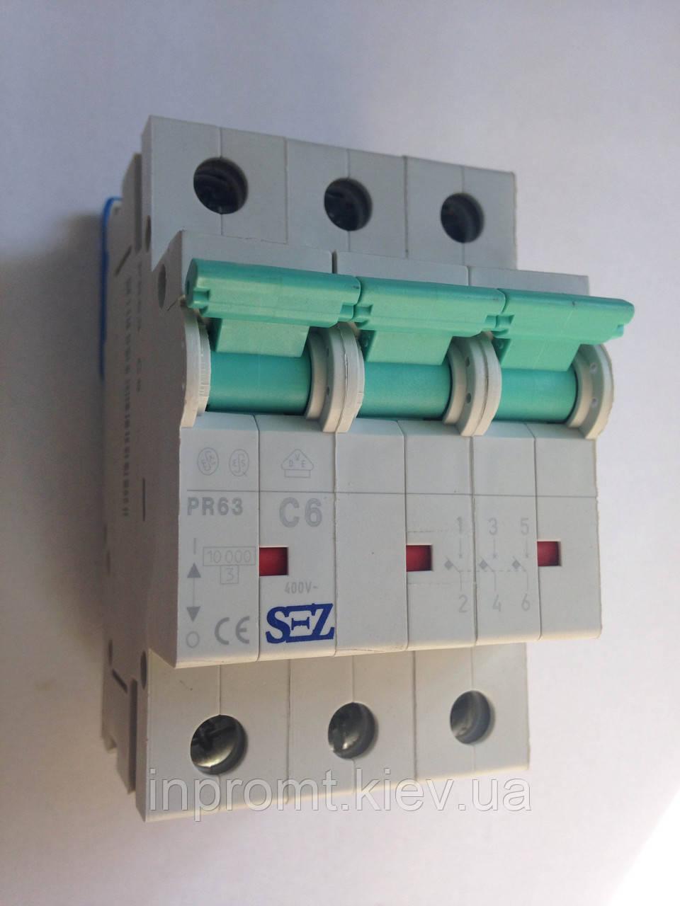 Автоматический выключатель PR63С6