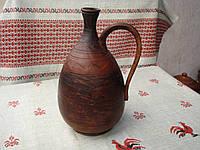 Глиняный кувшин для вина 1 л