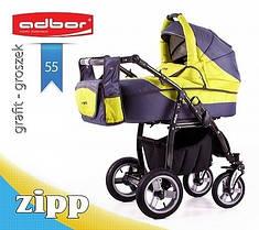 Универсальная коляска 2 в 1 Adbor Zipp 55