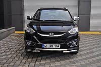 Защита переднего бампера (кенгурятник)  Hyundai IX-35 с 2010- /Ø60