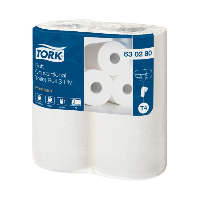 Туалетная бумага в рулонах Tork Advanced