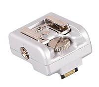 Адаптер для вспышек на камеры Sony NEX серый