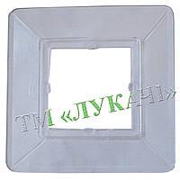 Рамка під вимикач прозора 10шт/уп*