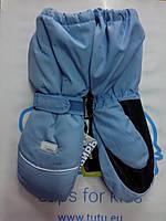 "Детские краги ""TuTu"" Сибирь арт. 2905 7-9, голубой"