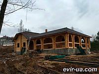 Дома и Гостиницы из Дикого Сруба.