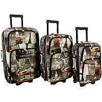 Чемодан сумка 773 набор 3 штуки City