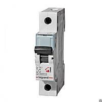 Автоматический выключатель  TX3  6A 1Р 6кА Legrand