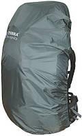 Накидка, чехол на рюкзак (50-65л) Terra Incognita RainCover М  Серый