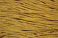 Шнур 2.5мм (100м) желтый + золото , фото 1