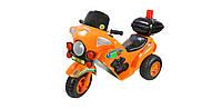 """Мотоцикл детский 372 """"ORION"""" аккумуляторный, оранжевый"""