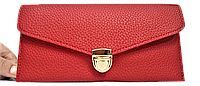 Женский кошелек SELFIE красного цвета AAW-122002