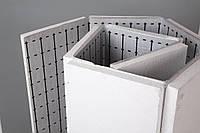 Пенопласт для теплого пола 30 мм с подложке с разметкой