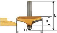 Фреза фигирейная горизонтальная ф63.5х19, хв.12мм (арт.10587), фото 1
