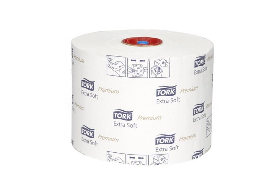 Туалетная бумага в рулонах Tork Premium супер мягкая