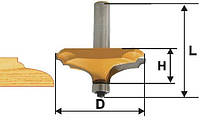 Фреза фигирейная горизонтальная ф63.5х19, хв.12мм (арт.10588)