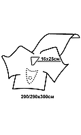 Комплект покрыт.операционных для гинеколог.операций (гистероскопия) №2