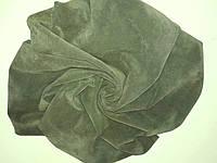 Спил-велюр RIVA зеленый  АВОКАДО  1.0-1.2 Италия