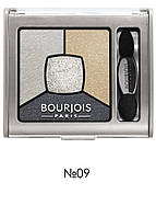 "Тени для глаз ""Квадро"" SMOKY STORIES Bourjois 09 Grey-Zy in Love"