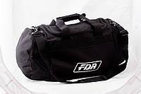Сумка спортивная FDR, черная