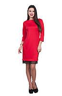 Платье Марианна 0214_2 Красное