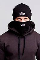Шапка мужская черная The North Face - Winter 2019, фото 1