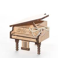 """Развивающий деревянный конструктор 3D пазл """"Пианино-1"""" (оригинальная сборная объемная модель из дерева), фото 1"""
