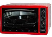 Печь электрическая бытовая Asel AF- 0123 (Асель) 40л 1300 Вт с таймером красный