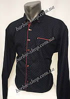 Молодежная мужская рубашка 1242 в расцветках