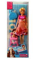 Кукла типа Барби Fashion Girl беременная с дочкой 60632 WP