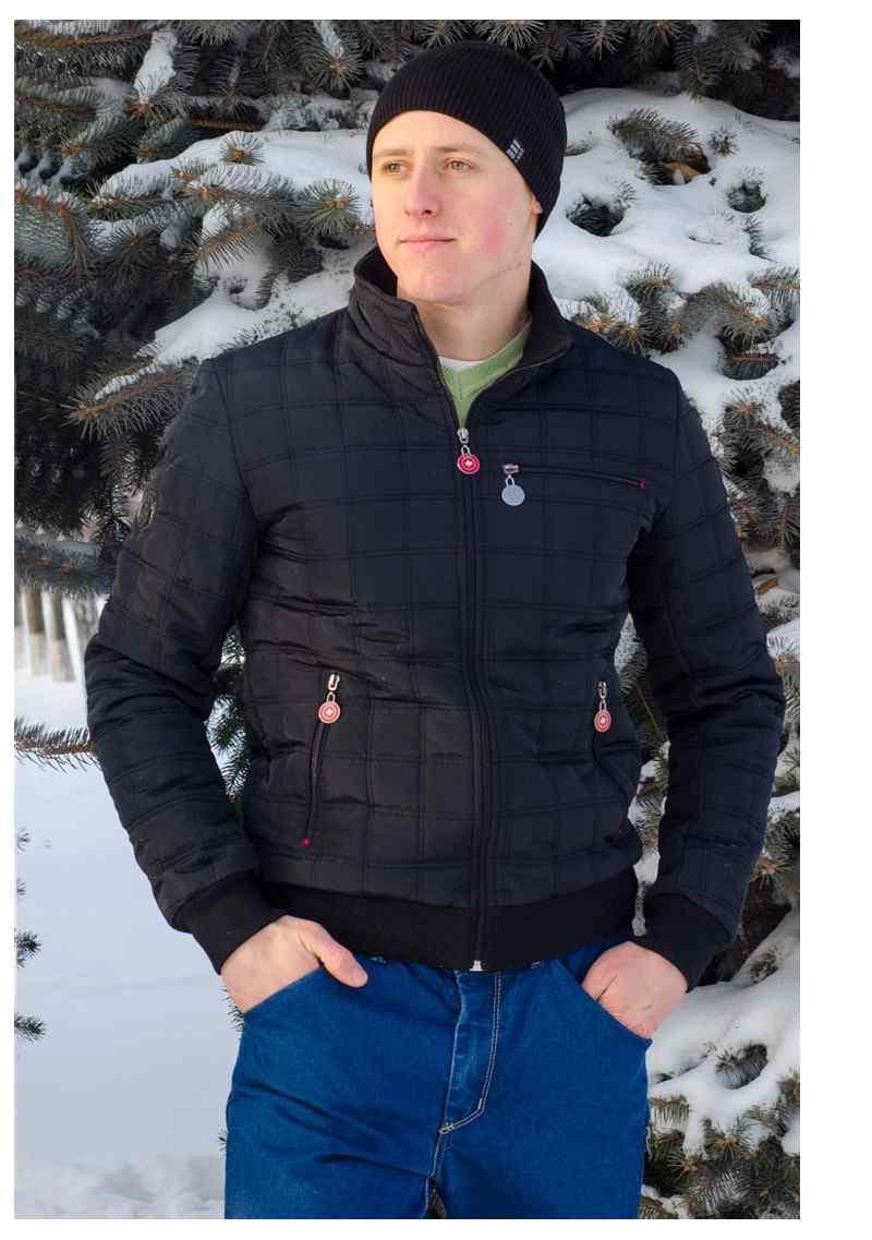 Демисезонная куртка КОЛИН  батал черный