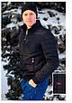 Демисезонная куртка КОЛИН  батал черный, фото 4