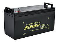 Гелевый аккумулятор 100Ah Fisher 12B, фото 1