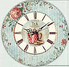 """Настенные часы """"Чайничек"""" (30х30 см) [Акрил, Открытые]"""