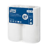 Туалетная бумага в стандартных рулонах Tork Advanced