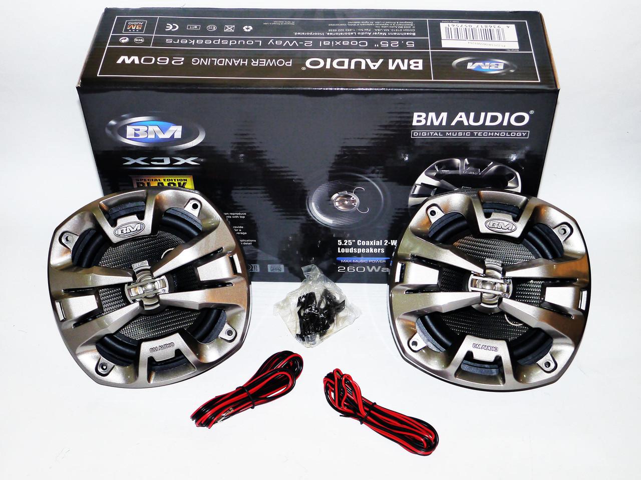 Автомобільна акустика BOSCHMANN M AUDIO XJ2-5655 M2 13см 260W 2х полосна