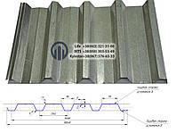 Профнастил Н-57  0,45мм  (цинк)