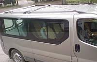 Рейлинги Renault Trafic/Opel Vivaro 2001- /длинн.база /Черный /Abs