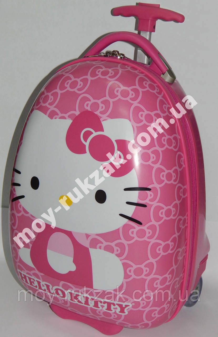 "Детский чемодан дорожный на колесах ""Josef Otten"" Hello Kitty-2"