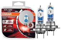 Автомобильная галогенная лампа NIGHT BREAKER LASER NBL 64210NBL Н7 (производство OSRAM, Германия)