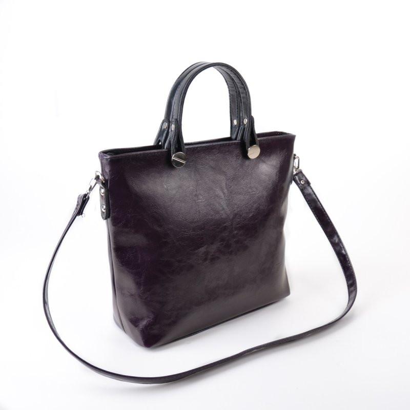 3faef8342c8c Сумка фиолетовая М61-51 масляная с мелкой текстурой: продажа, цена в ...