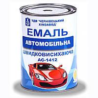 Эмаль А-1412 автомобильная быстросохнущая черная 0,9кг