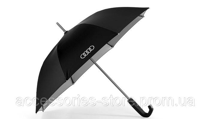 Зонт-трость Audi Stick Umbrella, small, black/titan