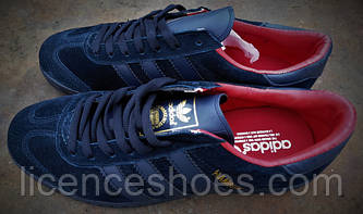 Кроссовки Adidas Hamburg Navi-Gold-Red