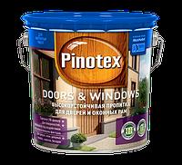 PINOTEX DOORS & WINDOWS – Быстросохнущее деревозащитное средство 1л
