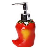 Диспенсер для жидкого мыла Красный перец 180-676