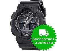 Часы Casio G-Shock GA-100 ALL BLACK